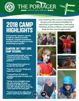 Portager November 2018 Newsletter