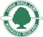Cedar Ridge Camp logo and link to their website